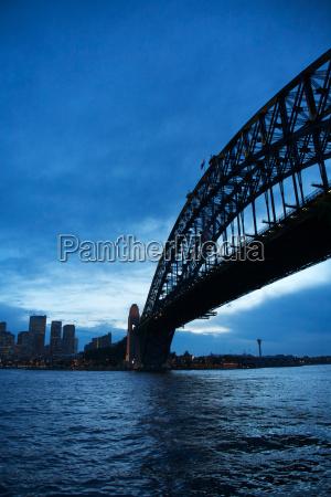 citta ponte notte australia stile di