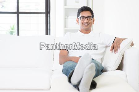 bello ritratto indiano maschile