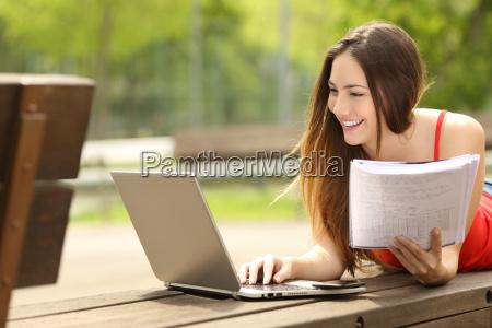 studiare studio portatile computer tesi contributo