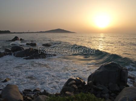 tramonto alba acqua salata mare oceano