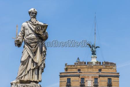 statua di san paolo a roma