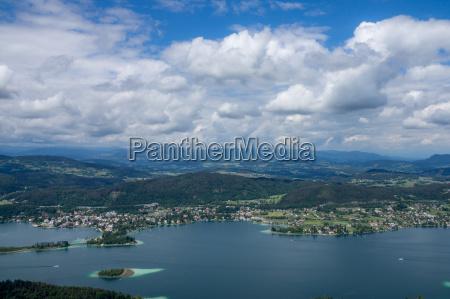 citta alpi austria carinzia sguardo vista