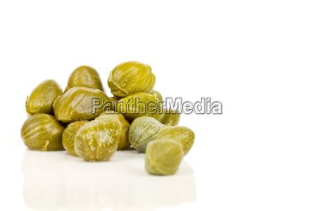 opzionale verde gemme spezie vegetariano capperi