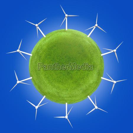 blu ambiente rischio ricerca verde futuro