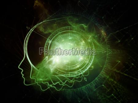 la vita virtuale di geometria interna