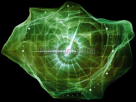 avanzamento della particella della mente