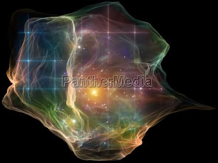 vita interiore di particelle mente