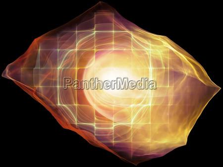 bagliore della mente particella