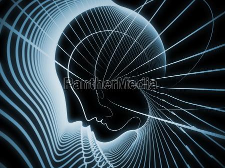 profilo blu arte progettazione concetto modello