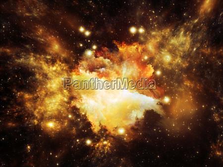 virtuale nebulosa di orione