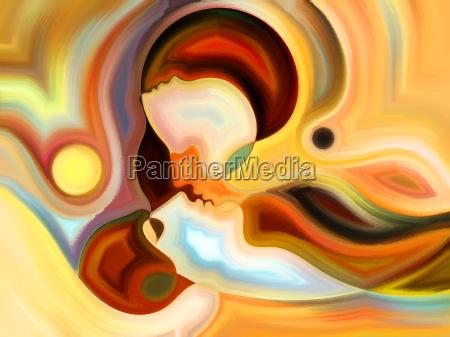 perfil existir vida arte composicao cor