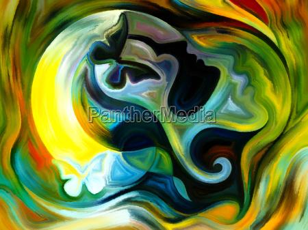 avanzamento della vernice interna