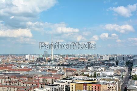 citta berlino germania torre della televisione