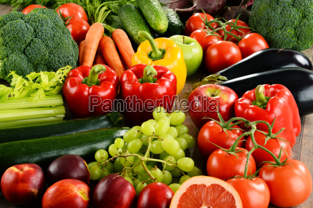 composizione con una varieta di verdure