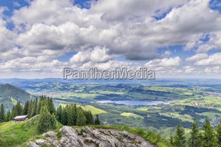 montagne alpi vertice estate punta prealpino