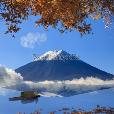 immagine della montagna sacra del fuji
