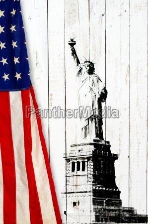 bandiera degli stati uniti damerica con