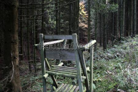 foreste spoglie palchetto postazione caccia foresta