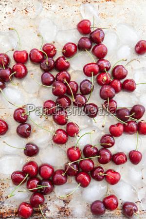 ristoro frutta ciliegia freddo ciliegie gelato