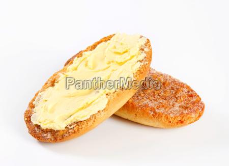 cibo pane primo piano diffusione secco