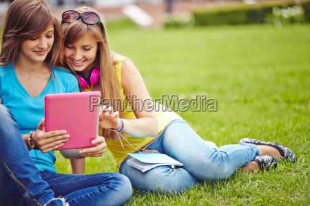 ragazze networking