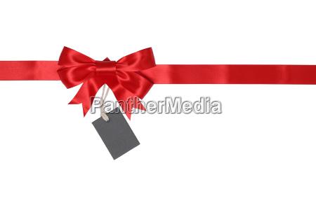 nastro del regalo con larco per