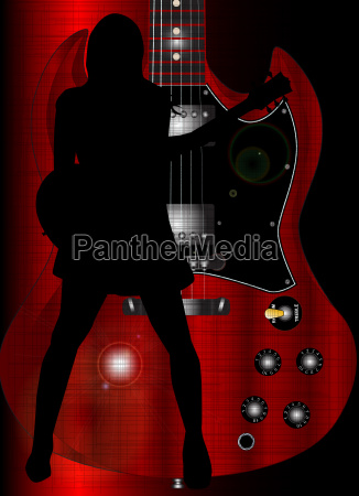 musica poster musicista giocatore scuro buio