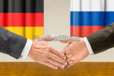 i rappresentanti di germania e russia