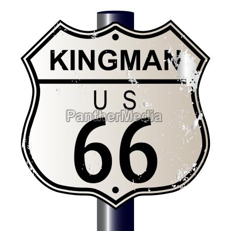 kingman route 66 sign