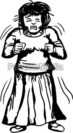 donna singolo rilasciato femminile emotivo persona