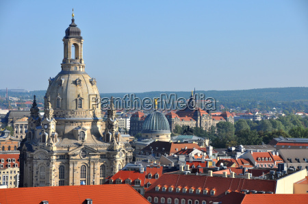 dresda con frauenkirche germania