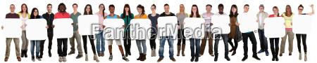 gruppo di giovani che tenere la
