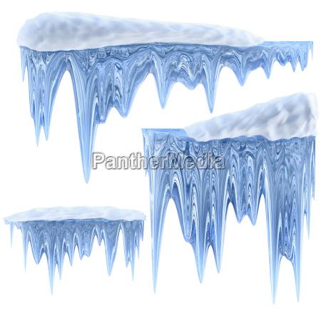 inverno freddo gelo congelato ghiacciolo ghiaccioli