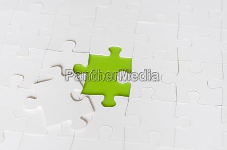 parte mancante di puzzle