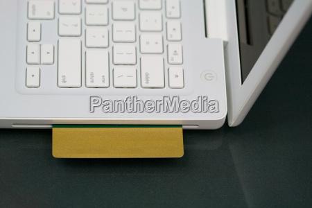 carta di credito in bianco portatile