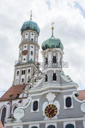 torre chiesa citta europa baviera visita