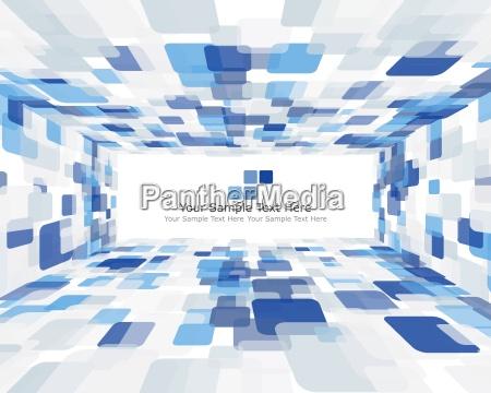 blu arte colore moderno muro ornamento
