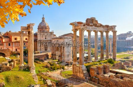 rovine romane a roma forum