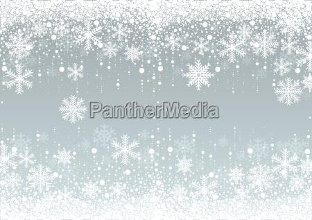 fiocchi di neve inverno sfondo