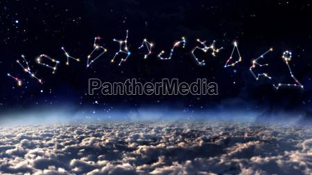 oroscopo colore spazio
