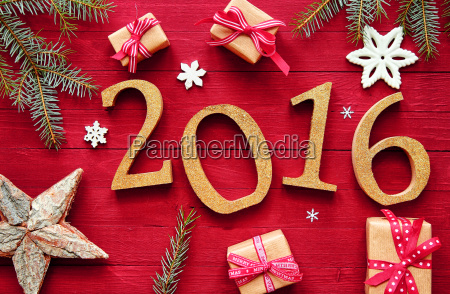 2016 anno nuovo disegno di natale