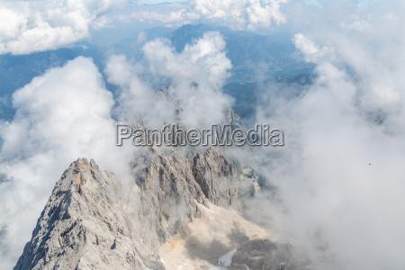 zugspitze montagna superiore della germania
