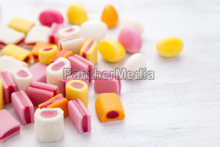 deliziosa caramella dolce con spazio di
