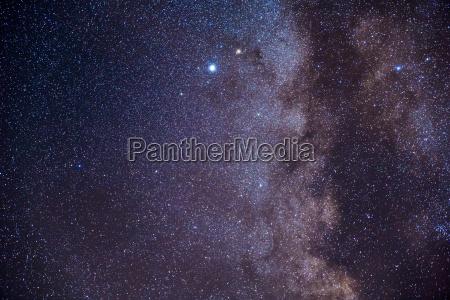 notte infinito via lattea stelle asterischi