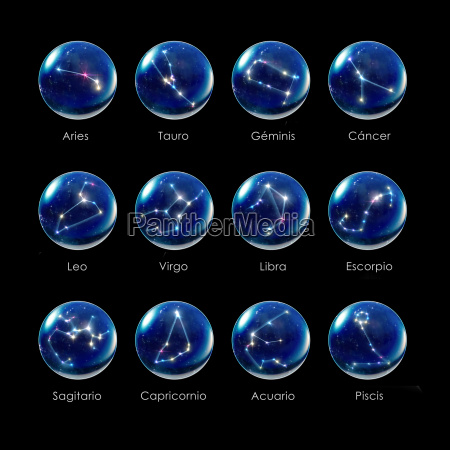 horoscopes zodiac signs crystal sphere spanish