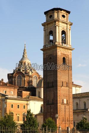 historic architecture in torino