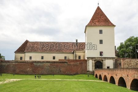 medieval castle in sarvar