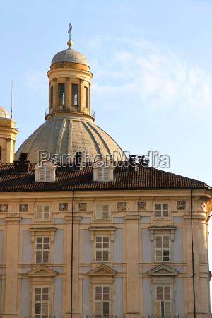 historic architecture in turin