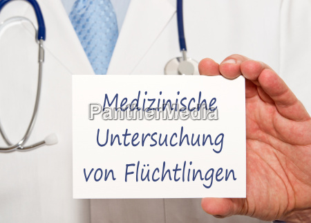 esame medico dei rifugiati