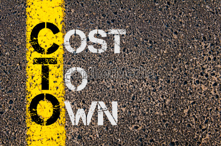 business acronym cto as cost to